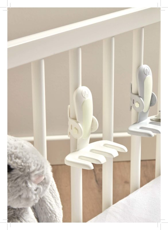 bbnove e-shop puériculture design - concept store made in france pour bébés Attache tétine Asleep