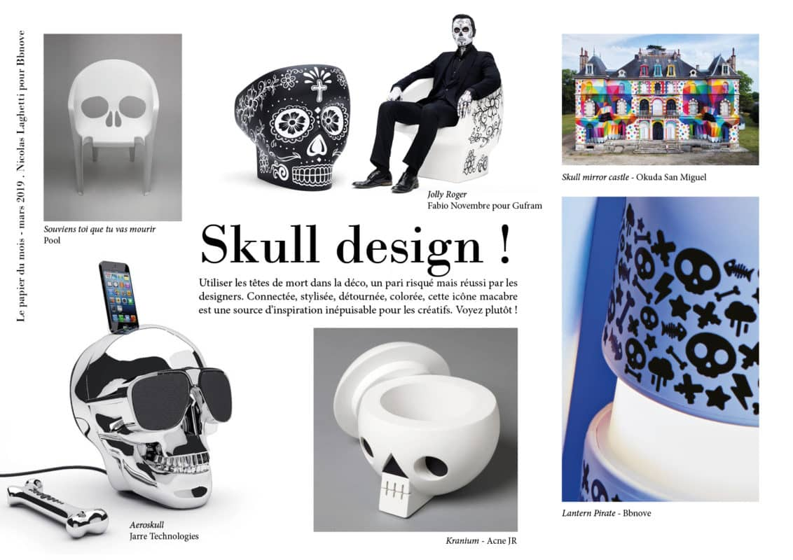 bbnove e-shop puériculture design - concept store made in france pour bébés Skull design !