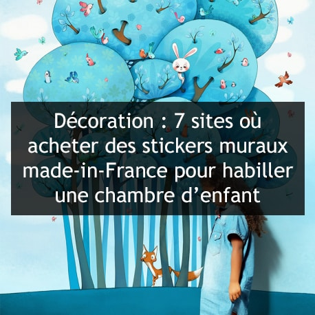 bbnove e-shop puériculture design - concept store made in france pour bébés stickers muraux par bbnove